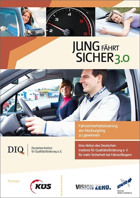Plakat zur Verkehrssicherheitsaktion